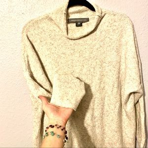 French Connection cream color sweater